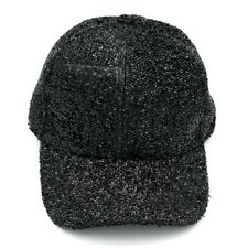 New Unisex Shining Sequin Baseball Hat Snapback Caps Sequined Glitter Party Cap
