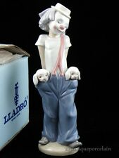 LLADRO COLLECTORS SOCIETY FIGURINE #7600 LITTLE PALS CLOWN WITH PUPPIES MINT BOX