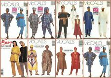 OOP McCalls Sewing Pattern African Garb Ethnic Costume You Pick