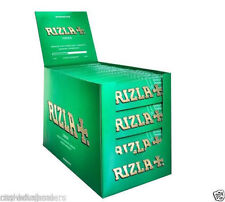 Genuine RIZLA Green Regular / Standard Size Cigarette Rolling Papers