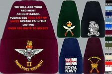UNITS N TO Q UK & FOREIGN ARMY ROYAL AIR FORCE NAVY REGIMENT BEANIE WOOLLY HAT