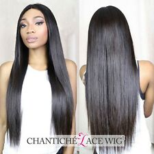 Human Hair Straight Lace Front Wigs Indian Remy Full Lace Wigs For Black Women