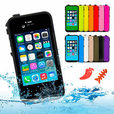 Waterproof Shockproof Dirt proof Durable Hard Case Cover for Apple iPhone 4 4S