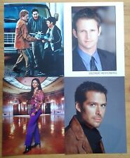 Selection of individual 8x10 photos of TV & film characters/actors inc signed