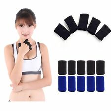 10PCS  Arthritis Sports & Outdoors Stretchy Protector Finger Support Sleeve