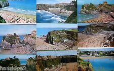 Postcards - CORNWALL -  NEWQUAY (C) Modern - TOWAN, FISTRAL, TOLCARNE, ISLAND