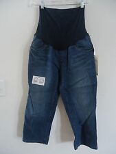 """Oh Baby by Motherhood """"Secret Fit Belly"""" Maternity Jean Capri, Sm or Lg, NWT-$44"""