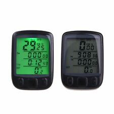 Wireless Cycle Bicycle Bike LCD Computer Speedometer Odometer with Backlight RX