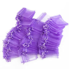 100 pcs Organza Gift Candy Bag Pouch Wedding Favor Bags Jewellery