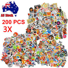400&800&1200 Randomly Vinyl Skateboard Guitar Travel Case Stickers decal Sticker