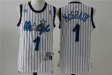 Tracy McGrady Orlando Magic #1 Throwback Jersey White S - 2XL All Stitched