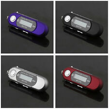 8GB USB 2.0 Flash Drive LCD MP3 Music Player With FM Radio Voice Recorder eRX