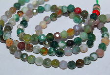 indian jade round faceted gem loose beads 2mm 4mm 6mm 8mm 10mm 12mm 15mm 15""