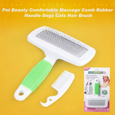 Magic Pet Dog Puppy Animal Clean Brush Hair Fur Grooming Massager Care Comb WS