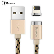 Baseus Magnetic Data Sync Fast Charger Cable Micro USB Adapter for iPhone 7 6S