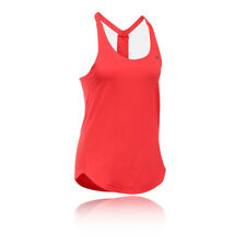Under Armour HeatGear Coolswitch Womens Pink Sleeveless Training Vest Tank Top