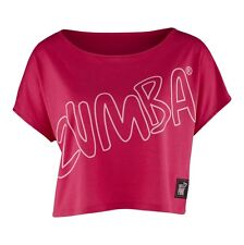 Zumba Party In Pink Boxy Top A0P00176 - Berry