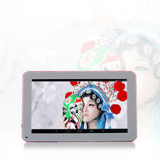 "N98 9"" Android 4.4 1.2GHz Tablet PC Quad Core 1GB+16GB 800x480 AU Plug Blue/Pink"