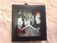 NIB Nike Air Jordan Baby 1st Crib Shoes Size 2C White/Black/Red More Colors