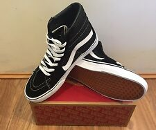 Vans Sk8 Hi - Mens Casual Shoe Black/White