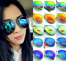 Unisex Vintage Retro children Glasses Aviator Mirror Lens Sunglasses Fashion