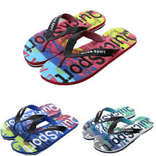 Men's Boy Slipper Slide Flip Flops Sandals Letter Beach Camouflage Shoes Sport J