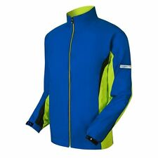 New! FootJoy HydroLite Rain Jacket - M, XL, 2XL - Nautical Blue /Lime /Black