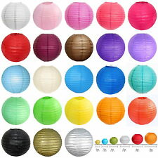 "10 PCS of 8""/10""/ 12"" /14""/ 16"" Paper Lantern Chinese Decoration Wedding Party"