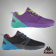 New Ladies Branded Kappa Stylish Casual Lace Up Drammer Trainers Shoes Size 4-8