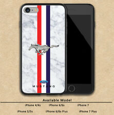 Ford Mustang Marble Custom Print Hard Plastic For iPhone 6/6s 7 And 7 Plus Cases