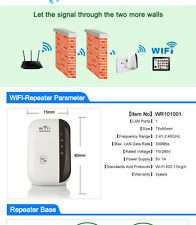 2017 Wireless-N Wifi Repeater Router 300Mbps Signal Range Expander Booster 802