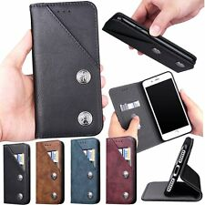 New Genuine Leather Flip Wallet PU Stand Case Cover For Apple iPhone 6 6S 7 Plus