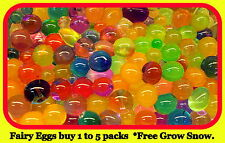Fairy Eggs,Dragon Eggs,Orbeez, *FREE Grow Snow. birthday wedding Party Easter.