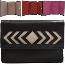 Ladies / Womens Genuine 100% Soft Leather Purse / Wallet / Money / Coin Holder