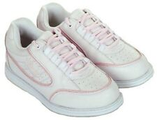 New! Linds CARA Womens Bowling Shoes White/pink size 9.5