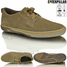 New Mens Caterpillar CAT Casual Leather Lace Up Desert Shoes Trainers Size 6-11