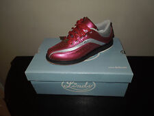 New! Linds LIBERTY LADY Womens Bowling Shoes Silver/Magenta Pink LH RH sz 5-11
