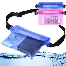 Waterproof Underwater Waist Strap Pouch Pack Dry Bag Case New For iPhone Samsung
