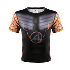 SUPER HERO Fantastic Four Marvel Costume Quick-dry Sports T-Shirt Cycling Jersey