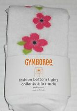 GYMBOREE Girl's Blooming Nautical Fashion Bottom Tights Size 0-6 Months