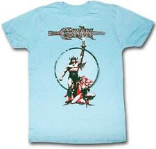 CONAN THE BARBARIAN Movie Poster Slim Fit T-Shirt S-2XL