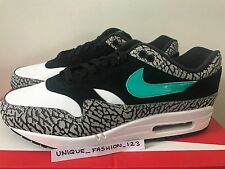 NIKE AIR MAX 1 PREMIUM RETRO 7 8 9 10 11 ATMOS ELEPHANT CEMENT SAFARI 2017 JADE
