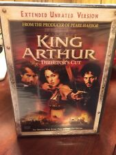 King Arthur(DVD,2004,Extended Unrated Version)Brand New,True Story,same day ship