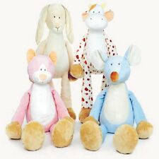 Teddykompaniet Cat,Rabbit,Cow,Mouse Plush Babies Animal Comforter Soft Toy