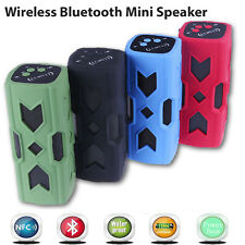 Waterproof Wireless Bluetooth 4.0 NFC 3600mAh Power bank Outdoor Stereo Speaker