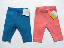 Hanna Andersson 80 Girls Very Güd Capri Leggings and Ribbed Capris 12 24 NEW NWT