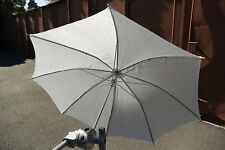 TWO Lowel Umbrella Tota-Brella White, silver