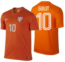 NIKE RUUD GULLIT NETHERLANDS HOME JERSEY FIFA WORLD CUP BRAZIL 2014 HOLLAND