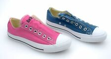 CONVERSE ALL STAR WOMAN SNEAKER SLIP ON SHOES PINK O BLUE CODE 136853C - 136610C