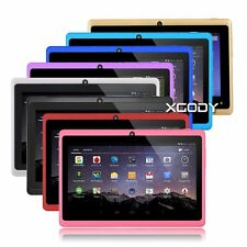 7'' inch Android 4.4 A33 Quad Core Tablet PC 8GB WIFI Bluetooth HD XGODY Brand